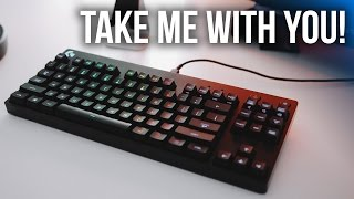 Logitech's Ultra Compact TKL Gaming Keyboard!