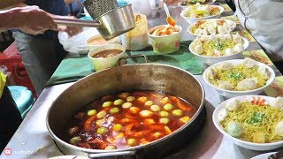 Went to Binondo Chinatown, Manila to try some Chinese street food. Found some chinese noodles in a street food stall called Fu Dao Dumplings. Street food in the Philippines are heavily influenced by Chinese cuisine. Email (Business Inquiries Only): aaron.numu@gmail.com This food video was inspired by Mark Wiens and Aden Films on their food adventures and street food tour.I invite you to taste the Flavors of the Philippines!