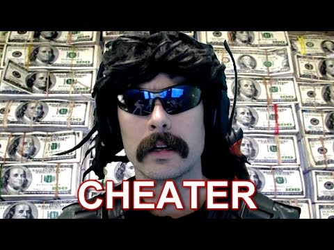 Popular Twitch streamer Dr Disrespect admits to cheating on his wife on his livestream.