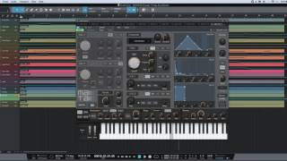 Making Stranger Things OST Using Studio One 3 (Mai Tai synth)