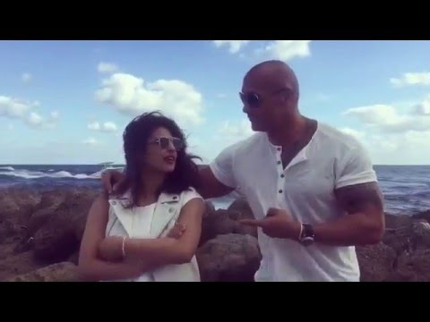 Priyanka Chopra & Dwayne 'the Rock' Johnson talk about their new movie, Baywatch! | itimes