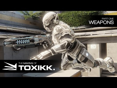 Making of TOXIKK: The Weapons