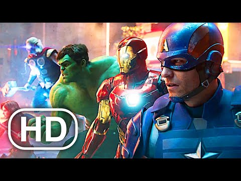 Marvel's Avengers Full Movie Cinematic (2020) 4K ULTRA HD Superhero All Cinematics