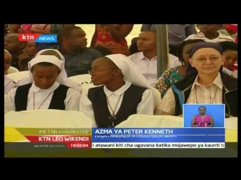KTN Leo Wikendi: Peter Kenneth asema atagombea kiti cha Ugavana