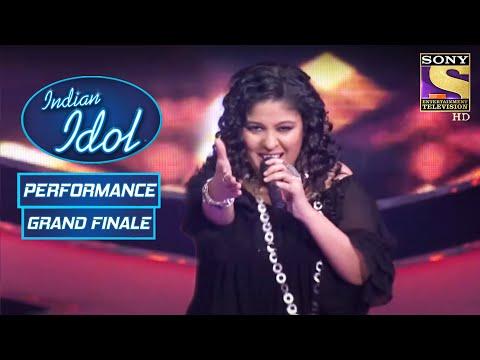 'Halkat Jawani' पे Sunidhi ने मचाया Stage पे धूम! | Indian Idol Season 6 | Grand Finale
