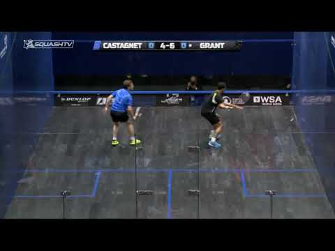 Squash tips: Use the angles of the squash court effectively