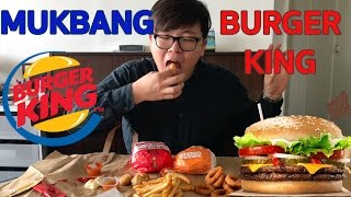 Video MUKBANG / BURGER KING (feat. Double whooper / onion rings...) MP3, 3GP, MP4, WEBM, AVI, FLV Mei 2017