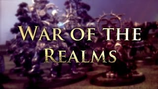 Fyreslayers vs Destruction Age of Sigmar Battle Report - War of the Realms Ep 109