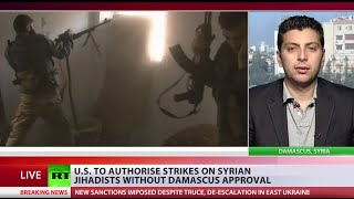 US could be violating international law if it acts in Syria