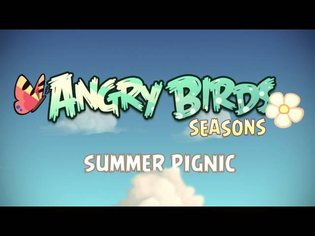 Angry Birds Seasons - Summer Pignic