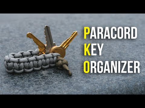 How To Make A Paracord DIY Key Organizer Tutorial | STOP THE NOISE!