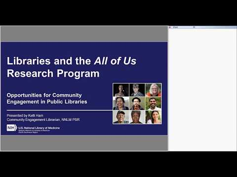 Libraries & the All of Us Research Program | Midday at the Oasis (Jun. 20, 2018)
