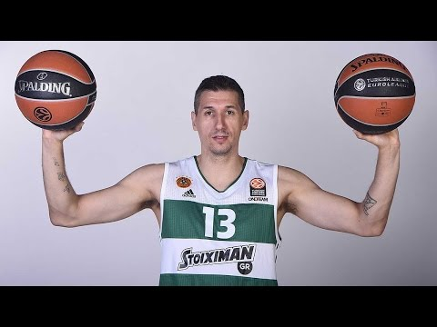 Video Replay: Euroleague Legend Dimitris Diamantidis, Panathinaikos Athens