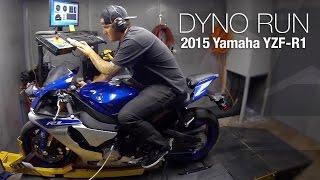 9. 2015 Yamaha YZF-R1 Dyno Run - MotoUSA