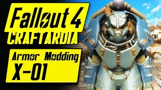 Fallout 4 Power Armor Customization - X-01 Power Armor - Fallout 4 Armor Modding [PC]