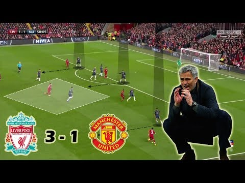 Mourinho's Last Game As Man United Manager? | Liverpool Vs Man United 3-1 | Tactical Analysis