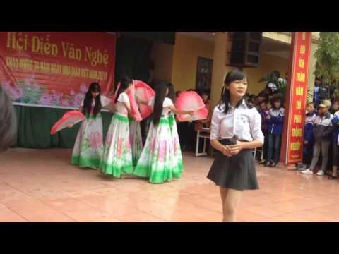 Chào mừng 20/11 -lớp 10a3 -Việt Yên -Bắc Giang