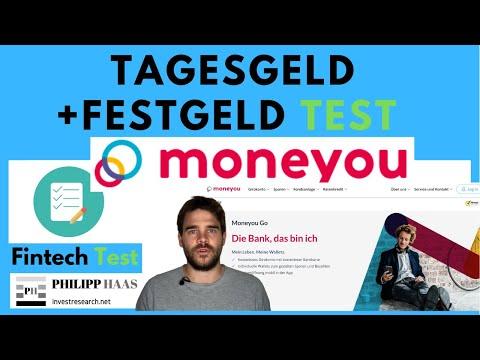 MoneYou Tagesgeld und Festgeld Test und Erfahrung bei Konto eröffnen