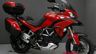 8. 2014  DUCATI  MTS1200S MULTISTRADA 1200 S TOURING  - National Powersports Distributors