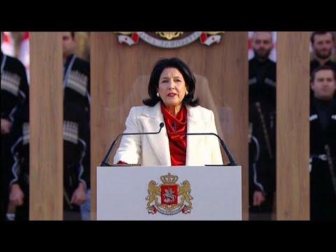 Georgien: Salome Surabischwili als Präsidentin vereid ...