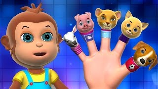 Finger Family,  Daddy Finger Song And 3D Animation Finger Family Nursery Rhymes & Songs for Kids.