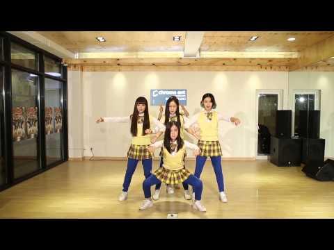 [Crayon pop] 뮤직비디오 100만 뷰 돌파 기념 안무영상!! видео