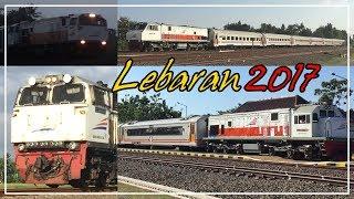 Beberapa kereta api tambahan selama masa angkutan lebaran tahun 2017