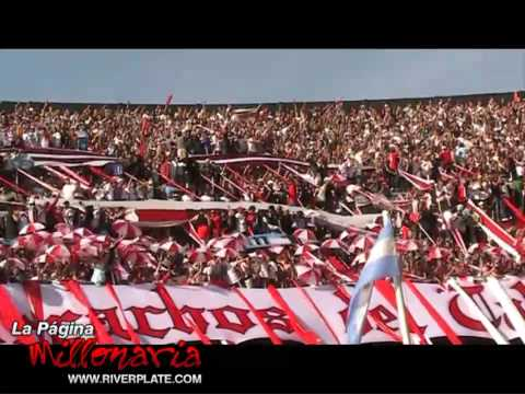 Video - Yo vengo por la camiseta, Superclasico Apertura 2009 - Los Borrachos del Tablón - River Plate - Argentina