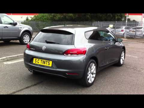 VW Scirocco with medium tints on all rear windows