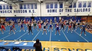 Fall Sectional Liberty Team Cheer