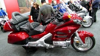 6. 2013 Honda GL1800AD Gold Wing Airbag - Walkaround - 2013 Quebec Motorcycle Show