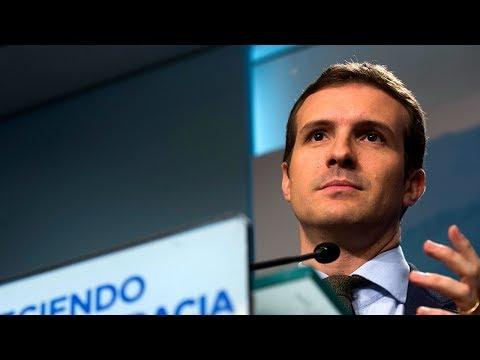 El vicesecretario de Comunicación del Partido Popular, Pablo Casado, valora hoy, lunes 25 de diciembre, el tradicional Mensaje de Navidad de Su Majestad el Rey.