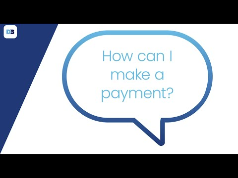 How can I make a payment in my account?