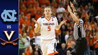 North Carolina vs. Virginia Men's Basketball Highlights (2016-17)