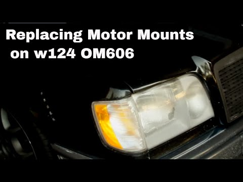 Replacing Motor Mounts on 95 Mercedes 300D