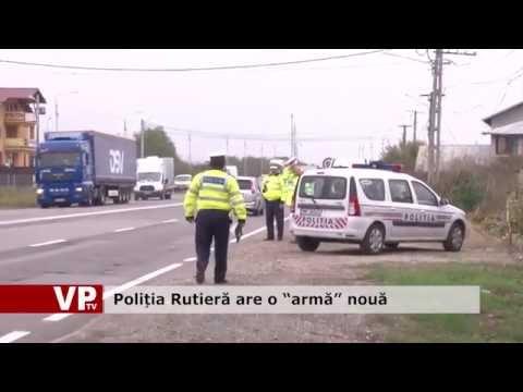 """Poliția Rutieră are o """"armă"""" nouă"""