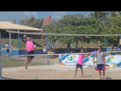 Iniciadas as competições do Vôlei de Praia Escolar em Aracaju