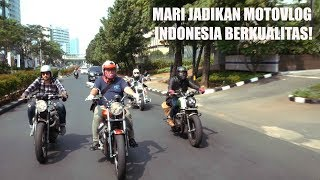 MotoVLog - Sunmori Bahas Indonesia MotoVLogger Day