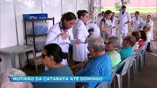 Mutirão de catarata realiza mais de mil procedimentos em Marília