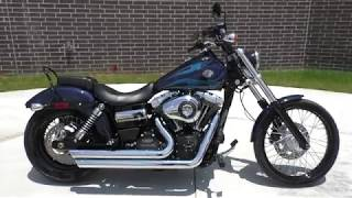 6. 306684   2013 Harley Davidson Dyna Wide Glide   FXDWG Used motorcycles for sale