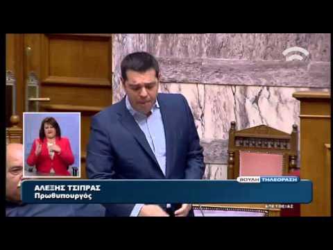 Η δευτερολογία – απάντηση του Πρωθυπουργού στη Φ. Γεννηματά