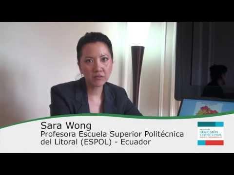Sara Wong – Cápsulas Cohesión Territorial para el Desarrollo