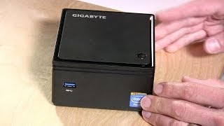 Gigabyte Brix GB-BXBT-2807 Fanless Mini PC Review - XBMC, Gaming, Windows 8
