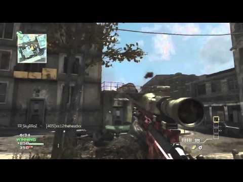 mw3 sniper gameplay -