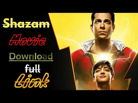 Shazam Full movie HD with Download Link 🔥🔥