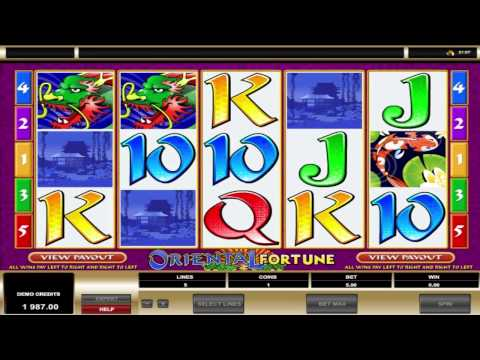 Oriental Fortune ™ free slots machine game preview by Slotozilla.com
