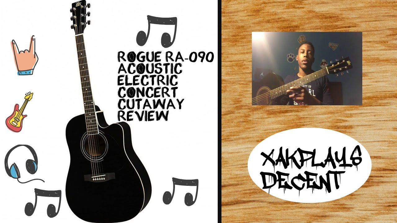 Rogue RA-090 Acoustic-Electric  Review
