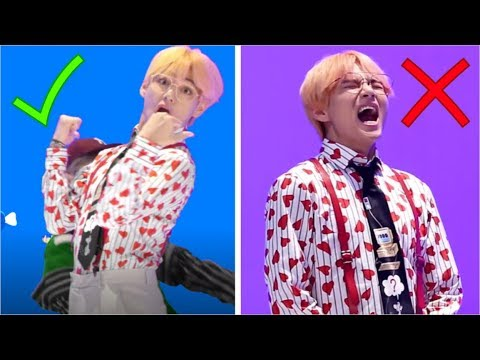 BTS (방탄늬우스) MV Vs REALITY 2018 (IDOL MV)