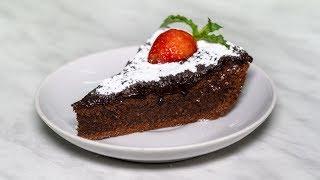 Брауни, шоколадный торт, пошаговый классический рецепт
