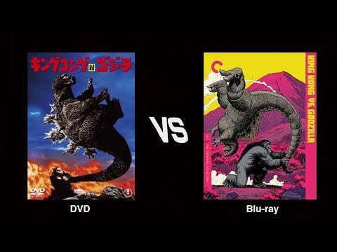 KING KONG VS. GODZILLA - Blu-ray vs. DVD Comparison (Japanese version)
